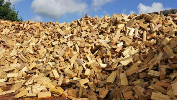Robinien Brennholz (vglb. mit Tropenholz) trocken & sofort verheizbar – 25 cm Scheite – lose – 1 SRM